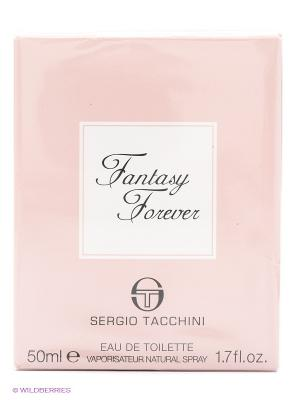 Туалетная вода Fantasy Forever, 50 мл SERGIO TACCHINI. Цвет: розовый