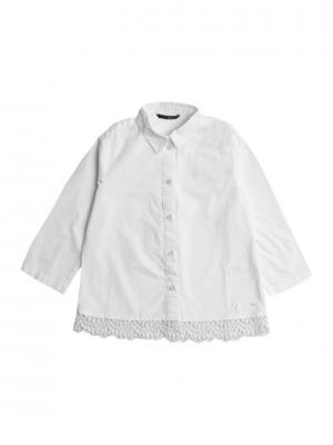 Рубашка GUESS. Цвет: кремовый
