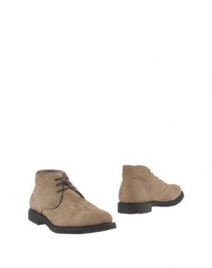 Полусапоги и высокие ботинки ANDREA VENTURA FIRENZE. Цвет: песочный