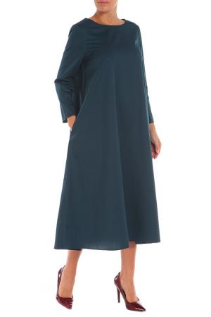 Платье Cyrille Gassiline. Цвет: морская волна