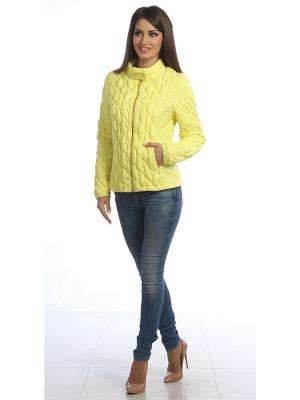 Куртка Lanicka. Цвет: желтый