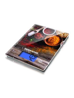 Весы кухонные REDMOND RS-736 (Специи). Цвет: светло-коричневый, красный, оранжевый