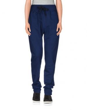 Повседневные брюки MISERICORDIA. Цвет: темно-синий