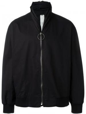 Куртка на молнии Damir Doma. Цвет: чёрный