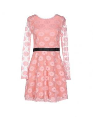 Короткое платье ANGEL EYE. Цвет: розовый