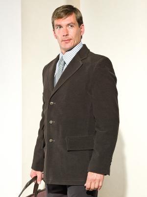 Пиджак Paxton. Цвет: темно-коричневый