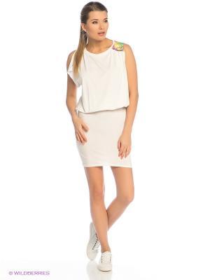 Платье Grishko. Цвет: белый