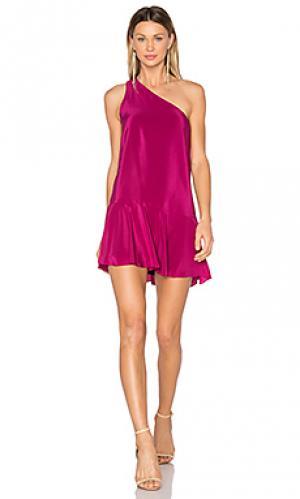 Платье rhodes Amanda Uprichard. Цвет: красный