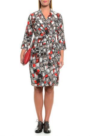 Платье Cantarelli. Цвет: мультицвет