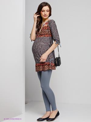 Леггинсы для беременных ФЭСТ. Цвет: серый