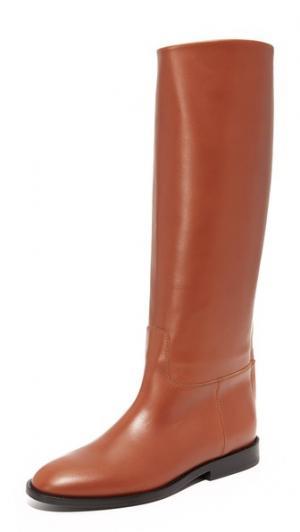 Жокейские сапоги Jenni Kayne. Цвет: коричневый
