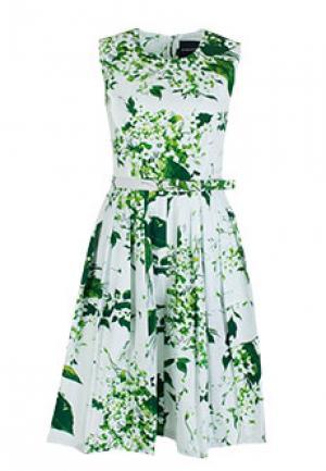 Платье SAMANTHA SUNG. Цвет: белый
