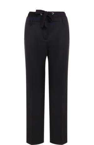 Укороченные брюки со стрелками Dorothee Schumacher. Цвет: темно-синий