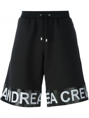 Шорты Band Andrea Crews. Цвет: чёрный
