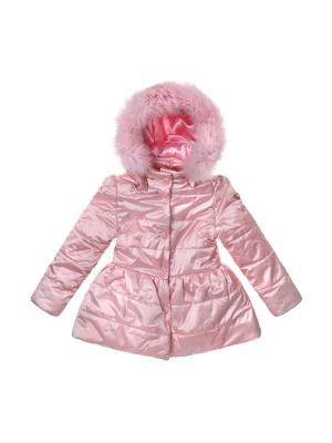 Пальто Stilnyashka. Цвет: розовый