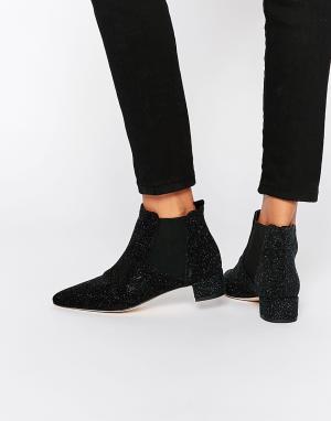 Miista Кожаные ботинки челси Beau. Цвет: черный