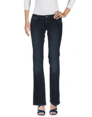 Джинсовые брюки WRANGLER. Цвет: темно-синий