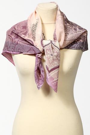 Платок Pollini. Цвет: розово-серый