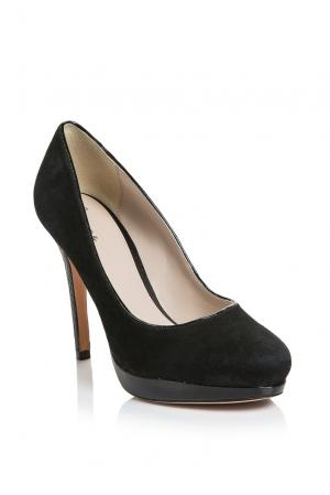 Туфли из кожи питона 159936 Bourne. Цвет: черный