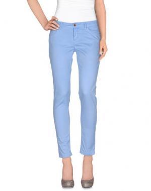 Повседневные брюки JAGGY. Цвет: небесно-голубой