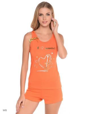 Комплект Berrak. Цвет: оранжевый