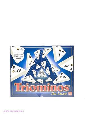 Настольная игра Triominos de luxe GOLIATH. Цвет: белый, синий