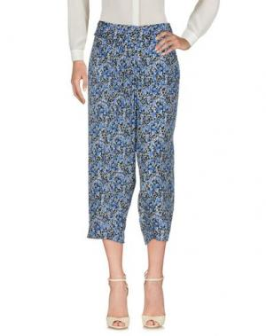 Повседневные брюки ELIE TAHARI. Цвет: синий