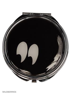 Зеркальце Funky Fish. Цвет: черный