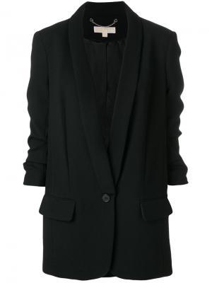 Длинный блейзер Michael Kors. Цвет: чёрный
