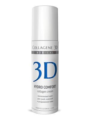 Крем-эксперт ПРОФ Hydro Comfort 150 мл Medical Collagene 3D. Цвет: белый, синий