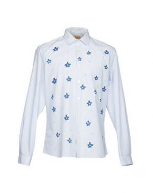 Pубашка BEAT GENERATION. Цвет: синий