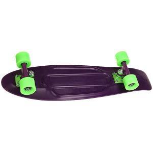 Скейт мини круизер  Nickel 27 Phantom 7.5 x (69 см) Penny. Цвет: фиолетовый
