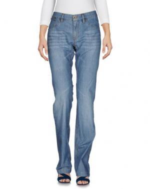 Джинсовые брюки HISTORIC RESEARCH. Цвет: синий