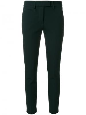 Skinny trousers Dondup. Цвет: зелёный