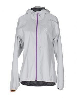 Куртка HAGLÖFS. Цвет: светло-серый