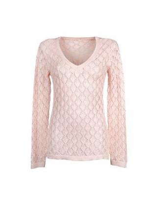 Пуловер. Цвет: розовый