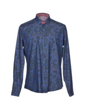Джинсовая рубашка AT.P.CO. Цвет: темно-синий