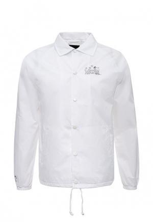 Куртка Vans. Цвет: белый