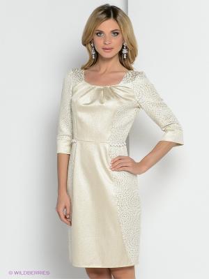 Платье ZAYKINS. Цвет: белый
