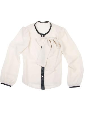 Блузка babyAngel. Цвет: бежевый