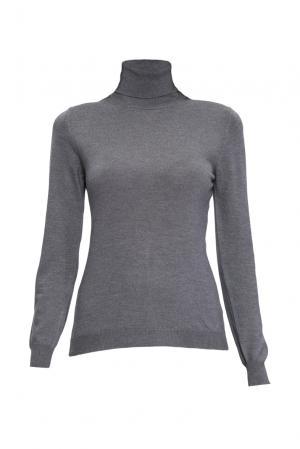 Джемпер из шелка с кашемиром 136705 Sweet Sweaters. Цвет: серый