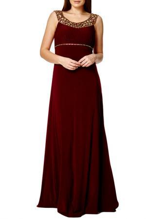Платье Dynasty. Цвет: burgundy and gold