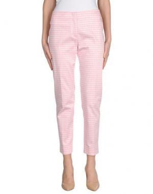 Повседневные брюки ARGONNE. Цвет: розовый
