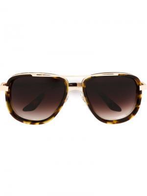 Солнцезащитные очки  Hero Frency & Mercury. Цвет: коричневый