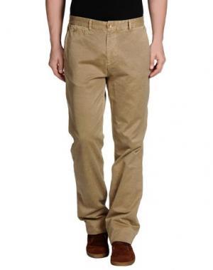 Повседневные брюки VINTAGE 55. Цвет: зеленый-милитари