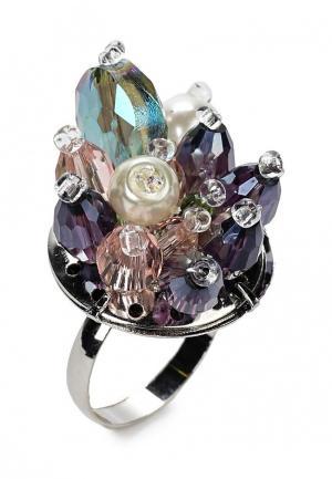 Кольцо Diva. Цвет: разноцветный