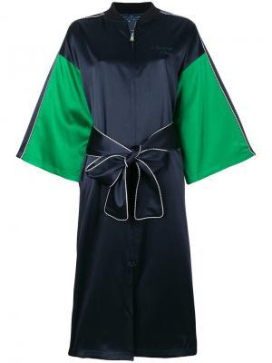 Кимоно на молнии Opening Ceremony. Цвет: синий