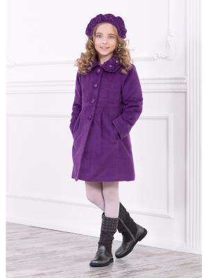 Пальто Baby Steen. Цвет: фиолетовый