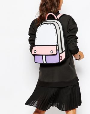 JumpFromPaper Рюкзак в стиле колор блок. Цвет: мульти