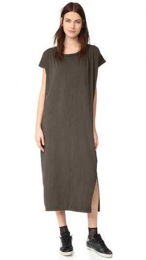 Макси-платье Box Oak. Цвет: голубой